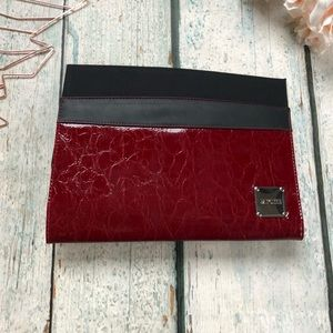 New Miche purse bag cover red snakeskin shell